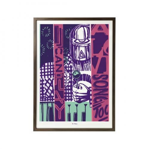Plakat I Can Play a Love Song 50 x 70 cm